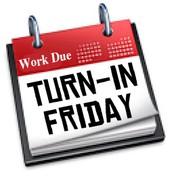 Turn-In Friday