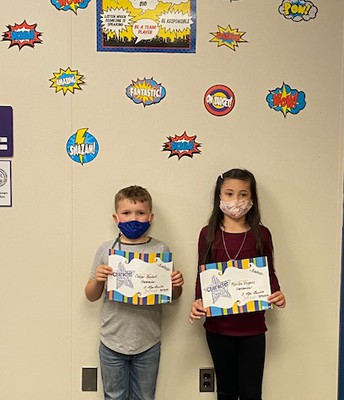 Grade 3- Burke Students of the Month