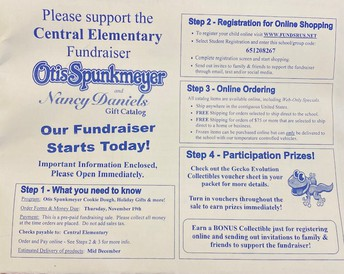 Central Elementary Fundraiser Packet
