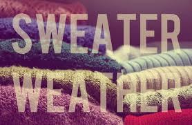 Sweater  Season is coming!