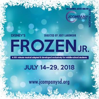 """MEA students in """"Frozen Jr."""""""