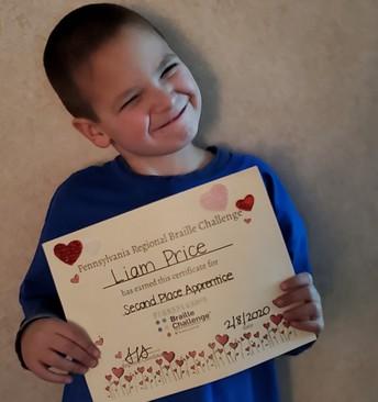 Congratulations Liam!