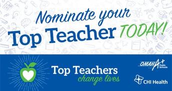 Top Teacher Nominations!