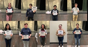 10th Grade Students of the Month