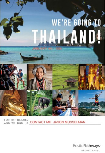CDS Goes To Thailand - January 4th - 10th, 2020