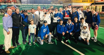 CHS Viking Wrestling Team Places Second at State, Payton Keough and Gunner Giulio State Champions