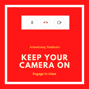 Armstrong Let's KEEP CAMERAS ON!