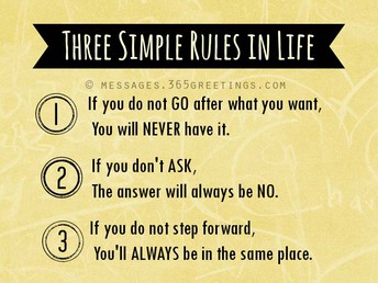 3 Simple Life Rules