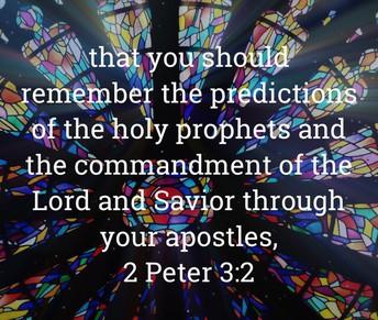 II Peter 3:2