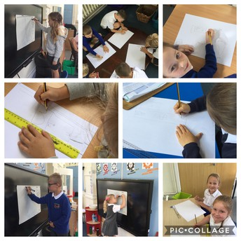 Class 2 developing a WAGLE ('What a Great Learning Example)