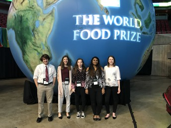UHS Students recognized at World Food Prize!