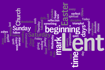 Lent - Almsgiving - Fasting  - Prayer - February 14 to March 31