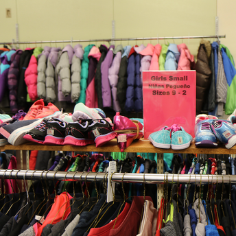 BSD Clothes Closet Volunteer Opportunity