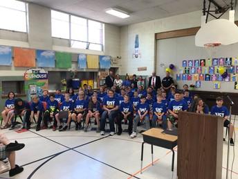 Jefferson Elementary 5th Grade DARE Graduates