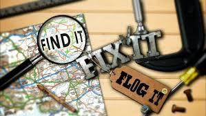 Find It, Fix It, Flog It