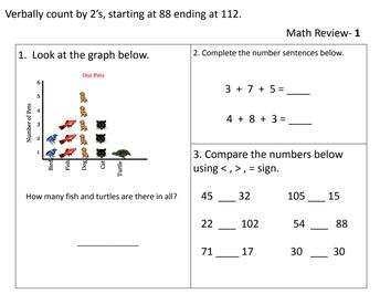 Math Review #1
