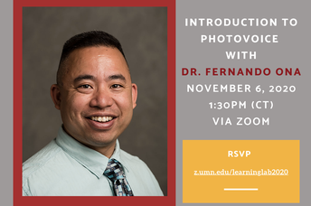 5. Learning Lab: Introduction to Photovoice with Dr. Fernando Ona