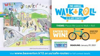 WALK + ROLL ART CONTEST