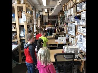 Touring the Scene Shop