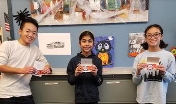 Halloween Art Contest Winners!
