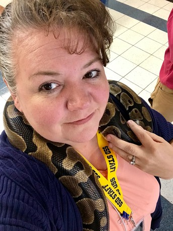 Debbie Coffer--GT Designee    Southwest Junior High School