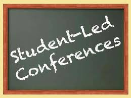 Student Led Portfolio Conferences on Thursday, December 13th