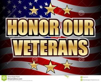 La ceremonia del Dia de Veteranos