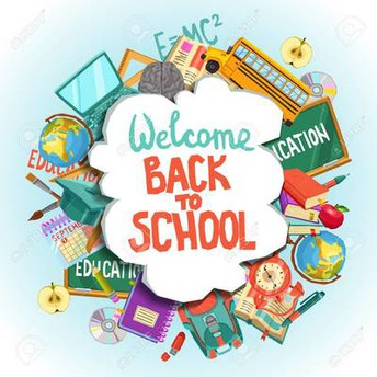 Welcome back to school Anglo Family