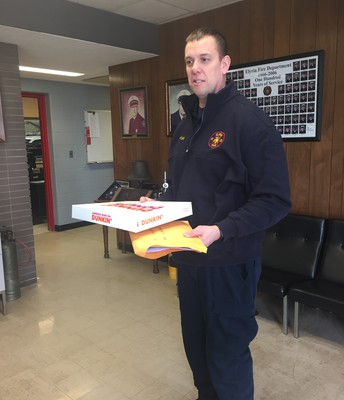Donuts and Cards Delivery