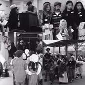 Reenacting Ellis Island