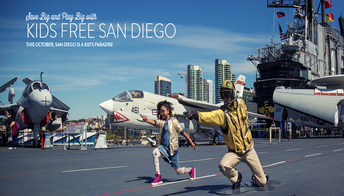 Kids Free October in San Diego