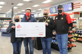 Casey's General Store Donates $500 to Carl Ben Eielson