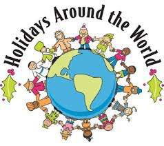 First Grade Learns about Holidays Around the World