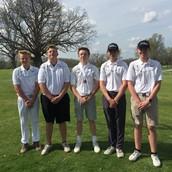 JV Golf Finishes Fifth In Warrenton Varsity Tournament