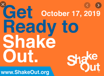 Great American ShakeOUT - 10/17 @ 10:17