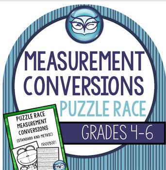Conversions Puzzle Race!