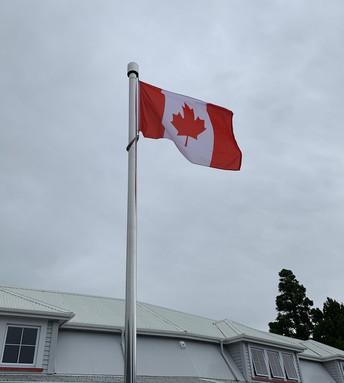 VOGELTOWN FLAG POLE