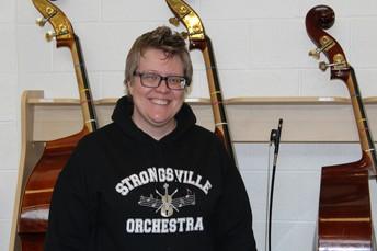 MUSTANG SPOTLIGHT - MS. KIM TAYLOR, ORCHESTRA TEACHER AT STRONGSVILLE MIDDLE SCHOOL