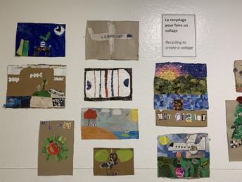 La classe de M Jacques utilise du recyclage de façon creative