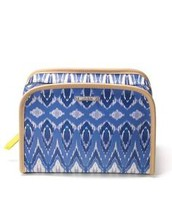 Beauty Bag, indigo- $36