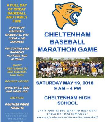 Cheltenham Marathon Baseball Game