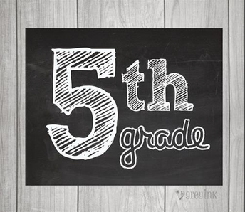 Important Info for 5th Grade Parents!
