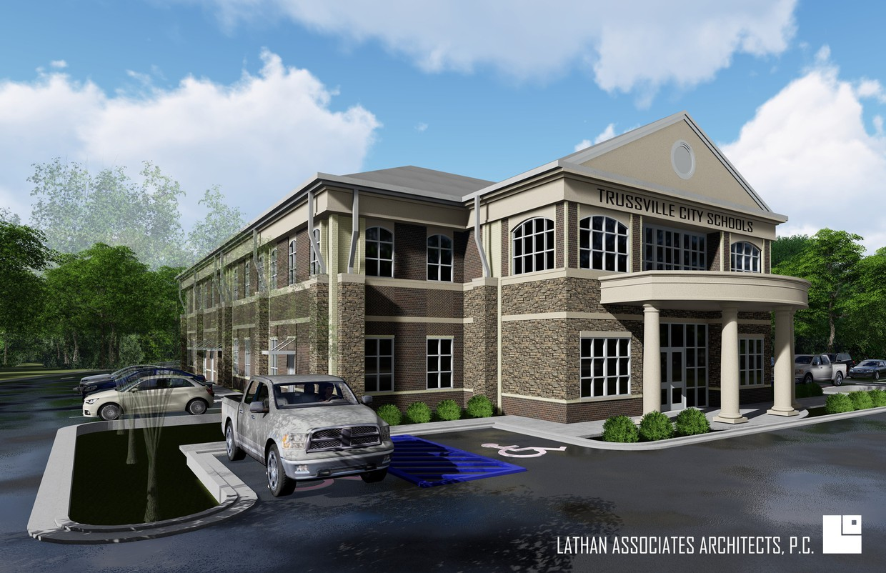 Rendering for new board office
