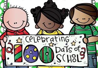 100th Day of School - Feb. 4th