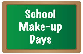 Make-up day  April 19th