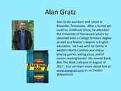 Author Alan Gratz