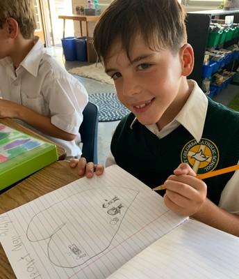 3rd Grade Personal Narrative Heart Maps