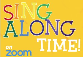 Friday, Dec. 18th- Virtual Sing Along