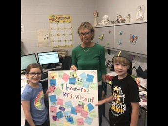 Farewell and Thank-you Mrs. Wilson!