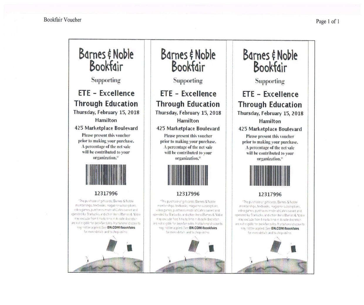 Black History Barnes & Noble Night | Smore Newsletters